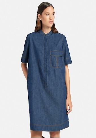 DAY.LIKE Jeanskleid »mit langem 1/2-Arm«, und Brusttasche kaufen