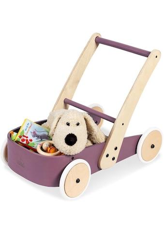 Pinolino® Lauflernwagen »Fiete, brombeer«, aus Holz kaufen