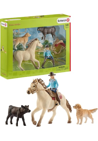 """Schleich® Spielfigur """"Farm World, Westernreiten (42419)"""", (Set) kaufen"""