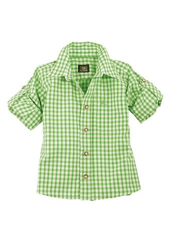 OS-Trachten Trachtenhemd, Kinder kariert für Mädchen und Buben kaufen