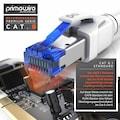 Primewire CAT.8 Netzwerkkabel 40 Gbit/s S/FTP mit PIMF Schirmung