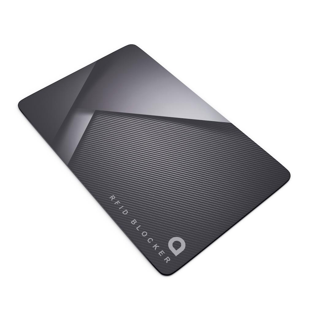 Aplic RFID Blocker Karte zur Abschirmung »Schutz vor Cyber Kriminalität / Grau«