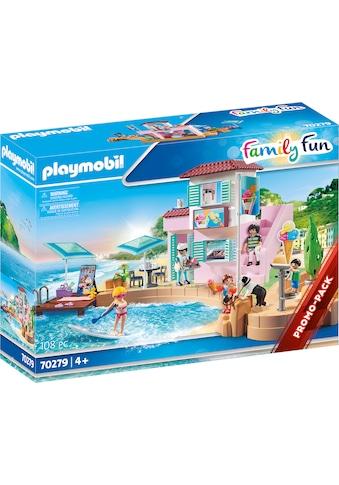 Playmobil® Konstruktions-Spielset »Eisdiele am Hafen (70279), Family Fun«, ; Made in... kaufen