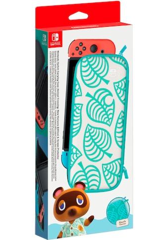 Nintendo Switch Spielekonsolen-Tasche »Animal Crossing Edition + Schutzfolie« kaufen