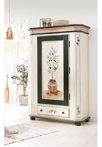 Premium collection by Home affaire Garderobenschrank »Olive«, mit schönen Ornamenten... kaufen