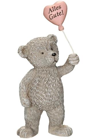 Ambiente Haus Dekofigur »Bär mit Alles Gute Herz - 10cm« kaufen