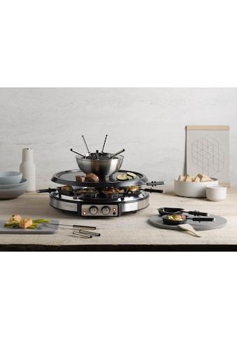 Severin Raclette und Fondue-Set »RG 2348«, 8 St. Raclettepfännchen, 1900 W kaufen