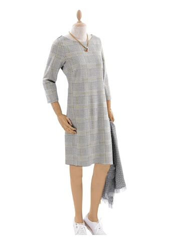 Casual Looks Jersey - Kleid im lässig interpretierten Glencheck - Karo kaufen