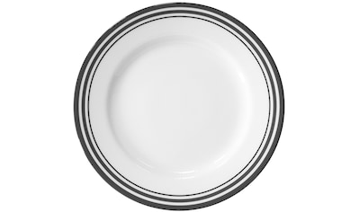 Fink Dessertteller »Moments«, (Set, 4 St.), Ø 21 cm, Porzellan mit 3 Streifen kaufen
