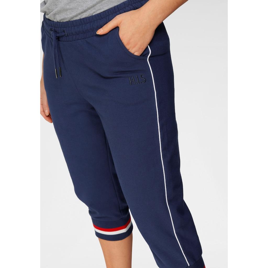 H.I.S Caprihose »Athleisure 3/4-Pants«, Große Größen
