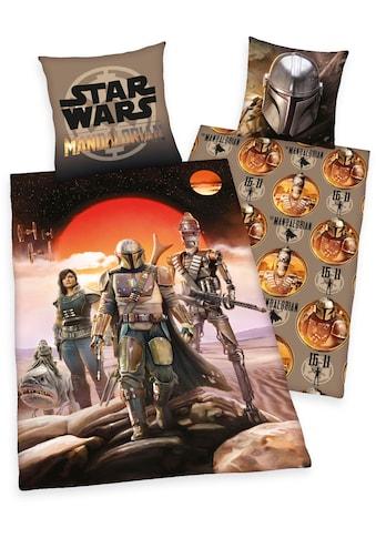 Wendebettwäsche »Star Wars  -  The Madalorian«, Star Wars kaufen