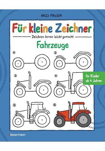 Buch »Für kleine Zeichner - Fahrzeuge / Nico Fauser« kaufen