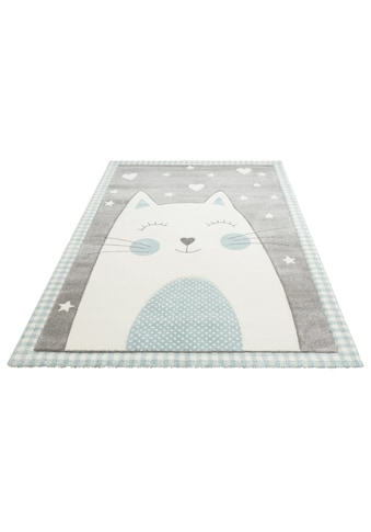 Kinderteppich, »Lunis«, Lüttenhütt, rechteckig, Höhe 13 mm, maschinell gewebt kaufen