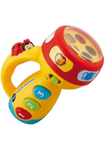 Vtech® Lernspielzeug »Fröhliche Taschenlampe«, mit Licht und Sound kaufen