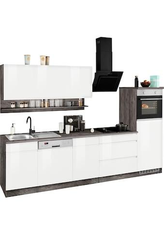 HELD MÖBEL Küchenzeile »Virginia«, mit E-Geräten, Breite 300 cm kaufen