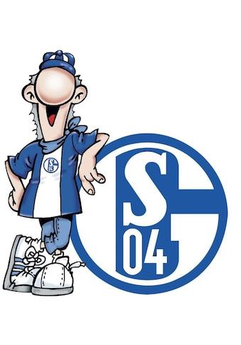 Wall-Art Wandtattoo »Fußball FC Schalke 04 Erwin« kaufen