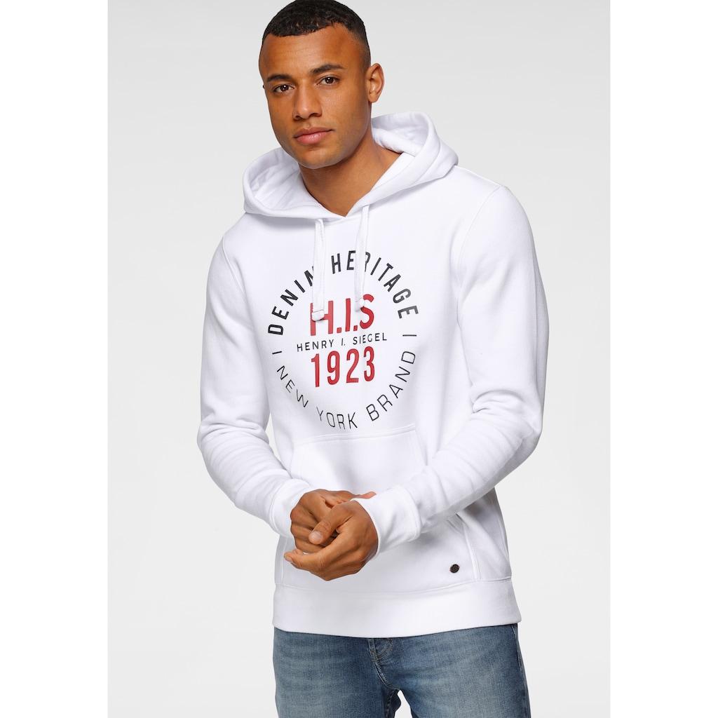 H.I.S Kapuzensweatshirt, mit markanten Kordeln