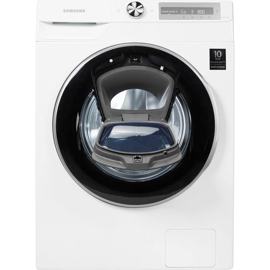 Samsung Waschmaschine »WW8GT654ALH/S2«, WW6500T, WW8GT654ALH/S2, 8 kg, 1400 U/min