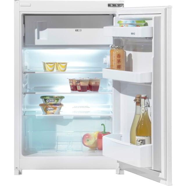 BEKO Einbaukühlschrank, 86 cm hoch, 54,5 cm breit