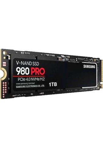 Samsung interne SSD »980 PRO 1TB SSD«, Playstation 5 kompatibel, PCIe 4.0 NVMe, M.2 kaufen