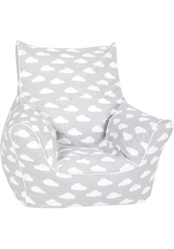 Knorrtoys® Sitzsack »Grey white clouds«, für Kinder; Made in Europe kaufen