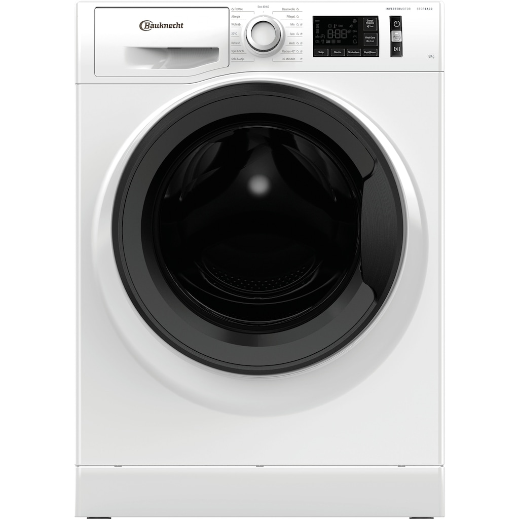 BAUKNECHT Waschmaschine »Super Eco 8421«, Super Eco 8421, 4 Jahre Herstellergarantie