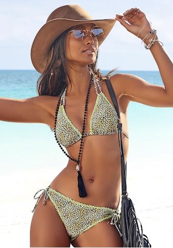 Buffalo Triangel-Bikini, mit neonfarbiger Ziernaht kaufen