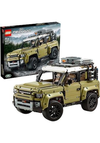 LEGO® Konstruktionsspielsteine »Land Rover Defender (42110), LEGO® Technic«, (2573... kaufen