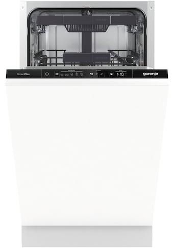 GORENJE vollintegrierbarer Geschirrspüler »GV561D10«, GV561D10, 11 Maßgedecke kaufen
