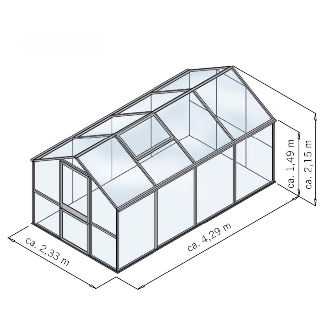 KGT Gewächshaus »Rose IV«