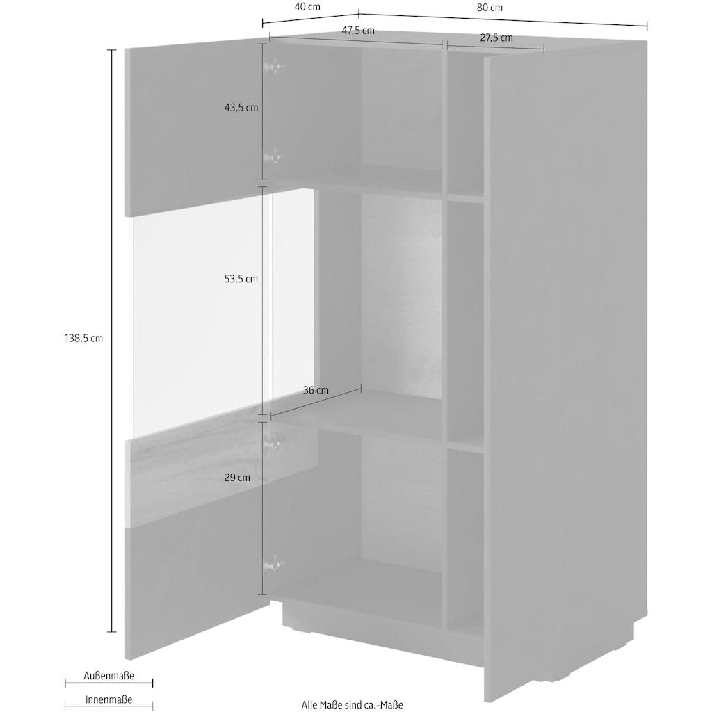 Helvetia Vitrine »SILKE«, Höhe 138,5 cm