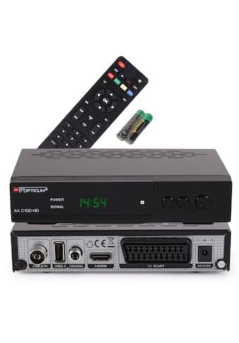 Opticum Red Kabel-Receiver »AX C 100 Full HD« kaufen