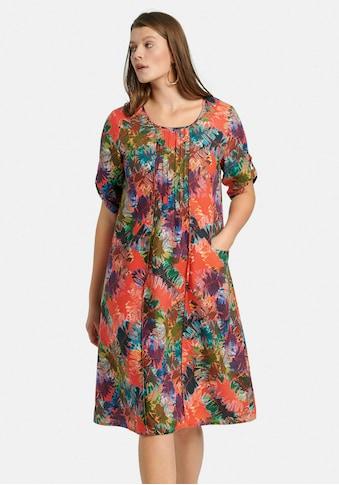 Anna Aura Sommerkleid »aus 100% Leinen«, mit Allover-Muster kaufen