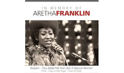 Musik-CD »In Memory of / Franklin,Aretha« kaufen