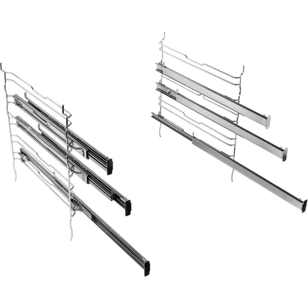 BAUKNECHT Elektro-Herd-Set »HEKO PYRO 8830S«