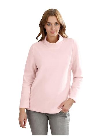 Classic Basics Fleece - Shirt mit Stehkragen kaufen