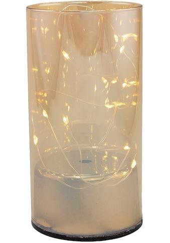 Dekolicht, Neutralweiß, aus Glas, mit 10 LEDs, Höhe ca. 15 cm kaufen