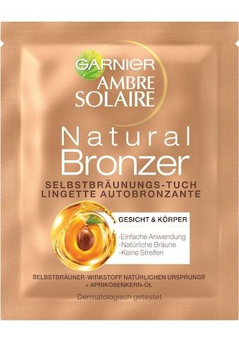 GARNIER Selbstbräunungstuch »Ambre Solaire Natural Gesichtstuch« kaufen