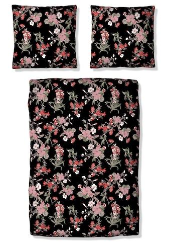 Home affaire Bettwäsche »Fleur«, mit feinen Blumenmotiven kaufen