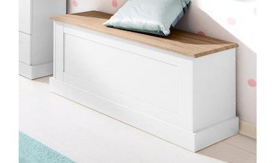 Home affaire Sitzbank »Binz«, in zwei unterschiedlichen Farbvarianten, mit Stauraum... kaufen