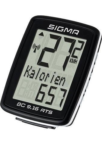 SIGMA SPORT Fahrradcomputer »BC 9.16 ATS«, kabellos kaufen