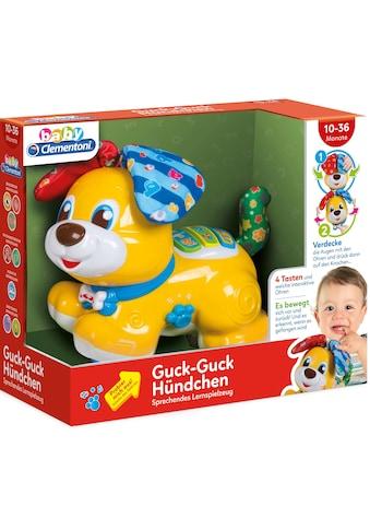 Clementoni® Spielfigur »Baby Clementoni - Baby, Guck-Guck Hündchen« kaufen