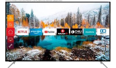 """Telefunken LED-Fernseher »D65V800M4CWH«, 164 cm/65 """", 4K Ultra HD, Smart-TV, 36 Monaten Herstellerlangzeitgarantie kaufen"""