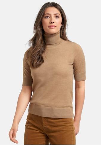 Peter Hahn Kurzarmpullover »Rollkragen-Pullover«, mit gerader Form kaufen