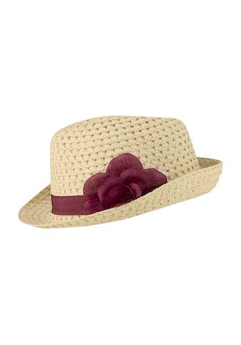 Hut mit blütendekoration kaufen