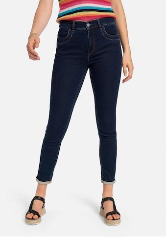 Peter Hahn High-waist-Jeans »cotton«, und Umschlagsaum kaufen
