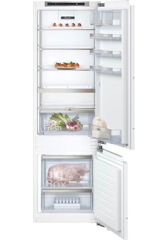 SIEMENS Einbaukühlgefrierkombination »KI87SADD0«, iQ500 kaufen