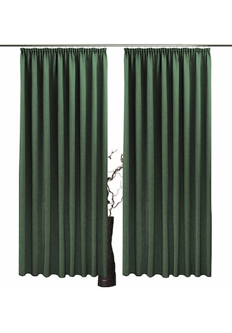 Vorhang, »Una«, VHG, Kräuselband 2 Stück kaufen