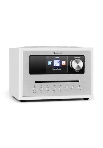 Auna CD Cube Radio Bluetooth HCC Display weiß kaufen