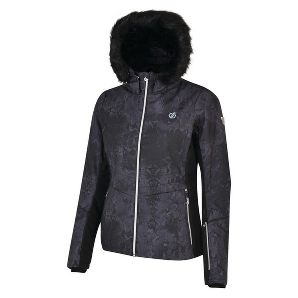 Dare2b Skijacke »Damen Iceglaze mit Kapuze mit Kunstfellbesatz«